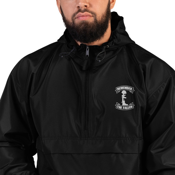 Remember the Fallen Embroidered Champion Packable Jacket