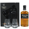 Highland Park 12 Year Old Single Malt Scotch Whisky 70cl & 2 Glass Gift Pack - Items display