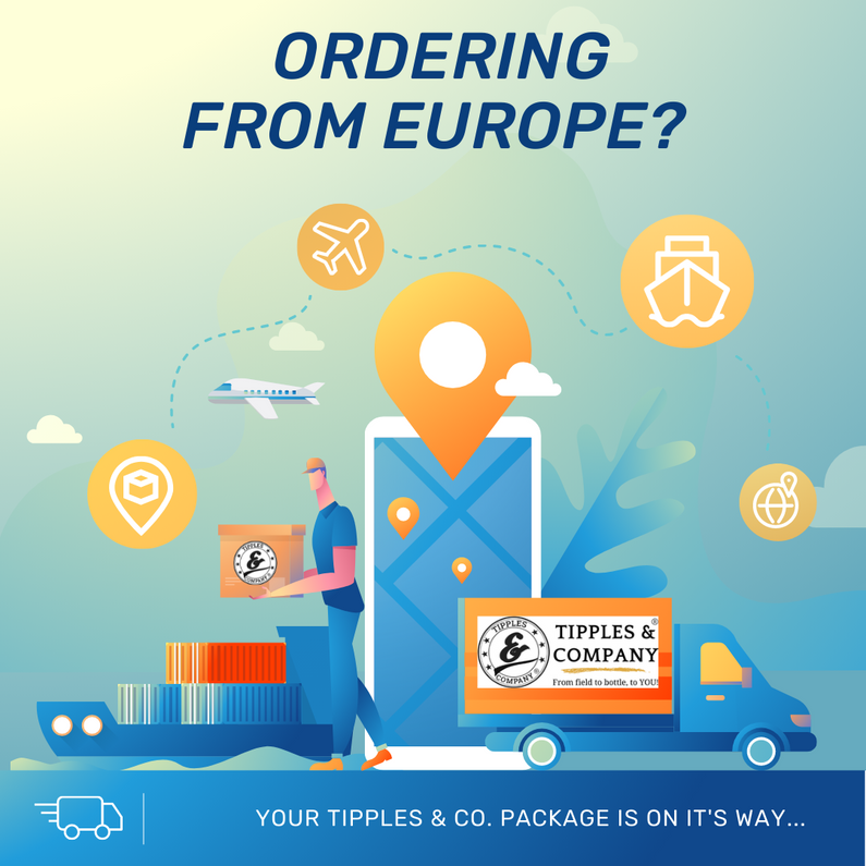 Orders Sent to E.U. Countries - Customs Clearance Delays Expected