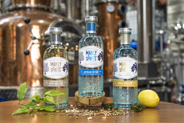 Manly Spirits Co. Trio of gins