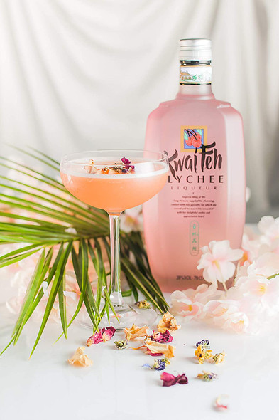 Kwai Feh Lychee Liqueur, 70CL served as cocktail