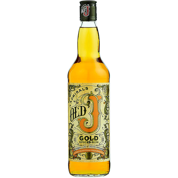 Admiral Vernons Old J Gold Spiced Rum, 70cl