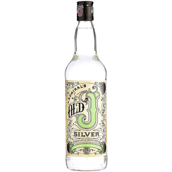 Admiral Vernons Old J Silver Spiced Rum, 70cl