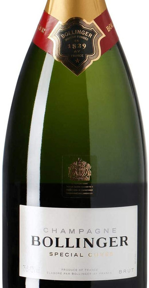 Bollinger Special Cuvee BRUT Champagne 75cl. Front magnified