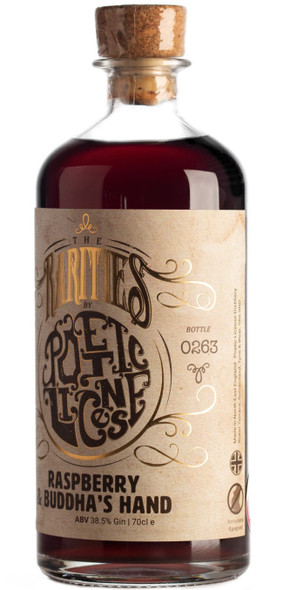 Poetic License Honey Bee Blossom Gin, RARITY EDITION, 70cl, right side of bottle