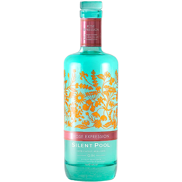 Silent Pool Rose Expression Gin, 70cl
