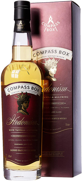 Compass Box Hedonism Whisky, 70CL in presentation box