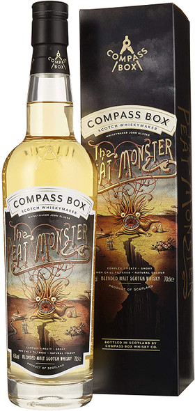 Compass Peat Monster Whisky, 70CL presentation box