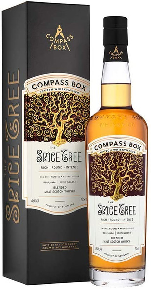 Compass The Spice Tree Blended Whisky, 70CL in presentation box