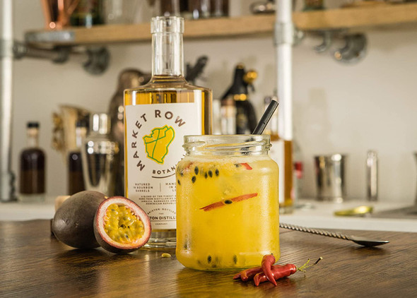 Market Row Botanical Rum, 50cl Passion Fruit and Chilli Cocktail