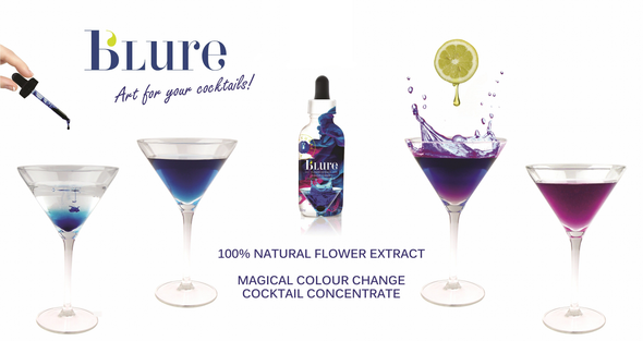 B'Lure 100% Natural Flower Extract - Magical Cocktail Colour Change, 100ml suggested method to add a bit of pizzazz
