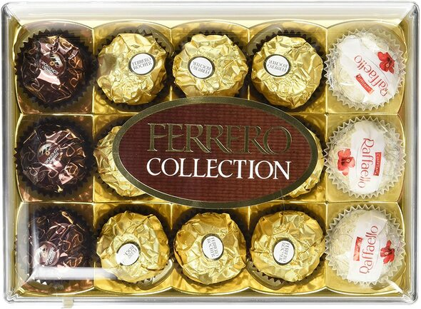 Ferrero Rocher Collection, 172g, front of box