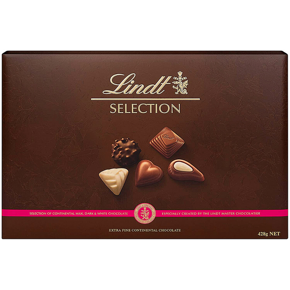 Lindt Continental Chocolate Selection, 428g