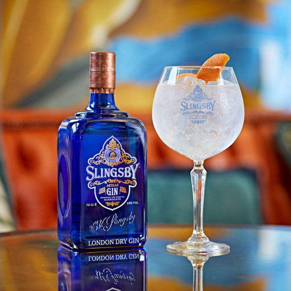 Slingsby London Dry Gin, 70cl Gin and Tonic