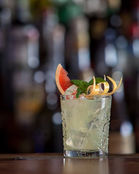 The King of Soho London Dry Gin, 70cl, served in a tumbler