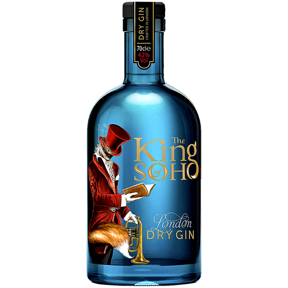 The King of Soho London Dry Gin, 70cl