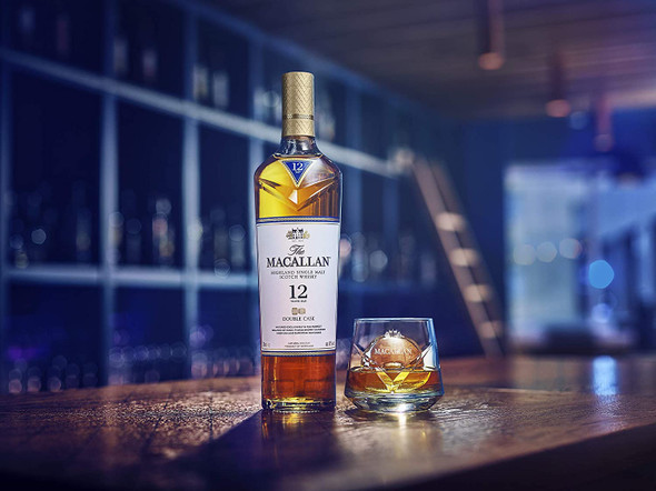 The Macallan Highland Single Malt Scotch Whisky Gold Double Cask, 70cl the perfect whisky