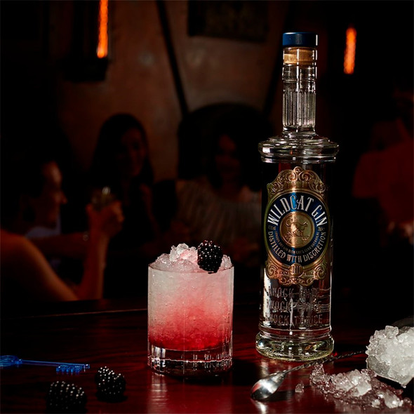 Wildcat London Dry Gin, 70cl bramble cocktail