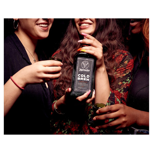 Jagermeister Cold Brew Coffee Liqueur, 50cl enjoyed as a shot drink