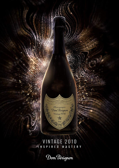 Dom Pérignon Blanc Vintage Champagne 2010 & Gift Box, 75cl inspired mastery