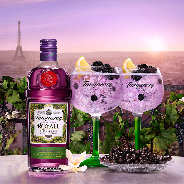 Tanqueray Blackcurrant Royale Gin, 70cl relax and enjoy
