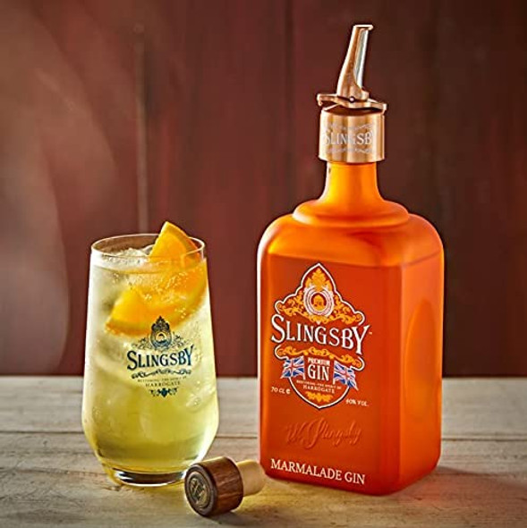 Slingsby Marmalade Gin, 70cl with your favourite mixer