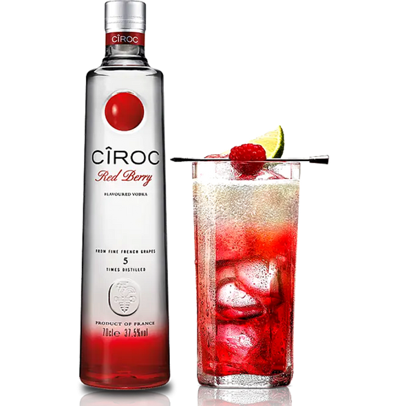 CIROC Red Berry Vodka, 70cl Red Berry Cocktail - see recipe below