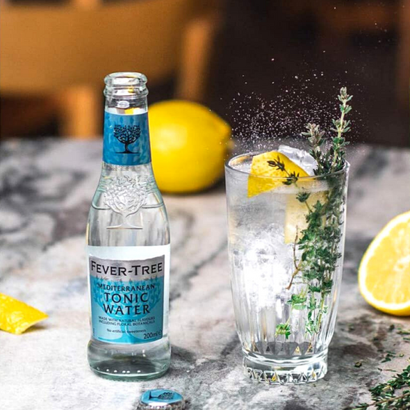 Fever-Tree Mediterranean Tonic Water, Case of 24 x 200ml perfect serve