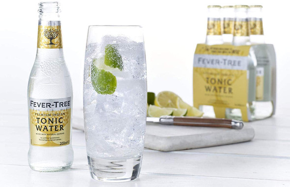 Fever-Tree Premium Indian Tonic Water, Case of 24 x 200ml perfect G & T