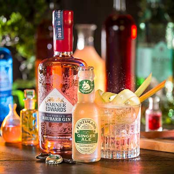 Fentimans Ginger Ale, Case of 24 x 125ml perfect with Rhubarb Gin