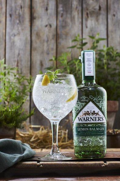 Warner Edwards Melissa (Lemon Balm) Gin , 70cl Perfect with Mediterranean tonic and a sprig of lemon balm