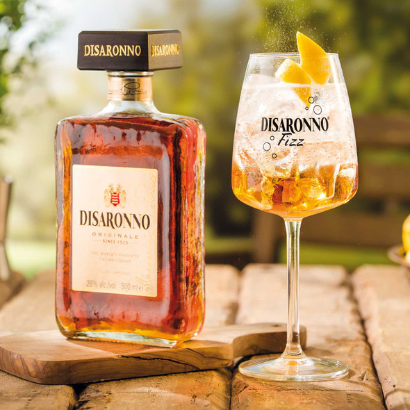 Disaronno Originale, 70cl served with your favourite mixer