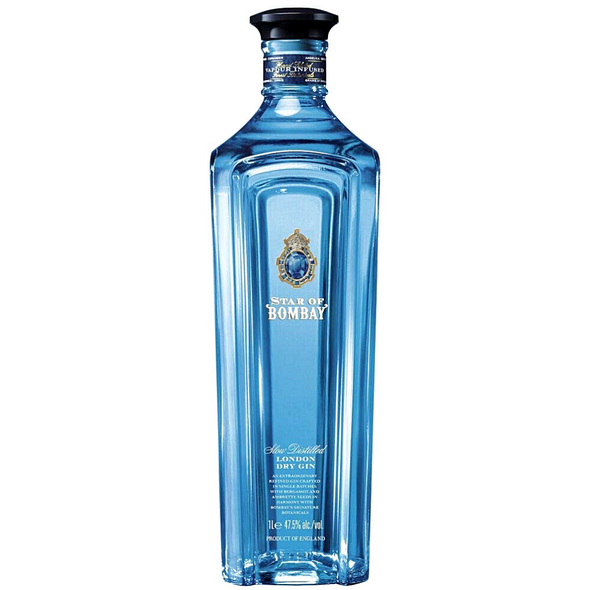 Star of Bombay London Dry Gin, 70cl