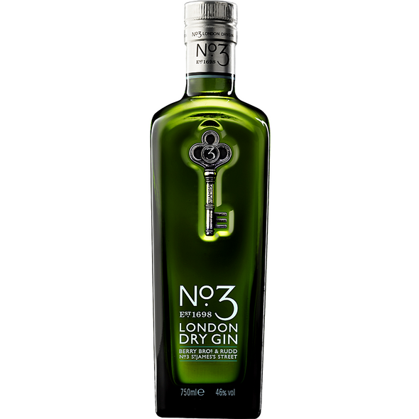 No 3 London Dry Gin, 70cl