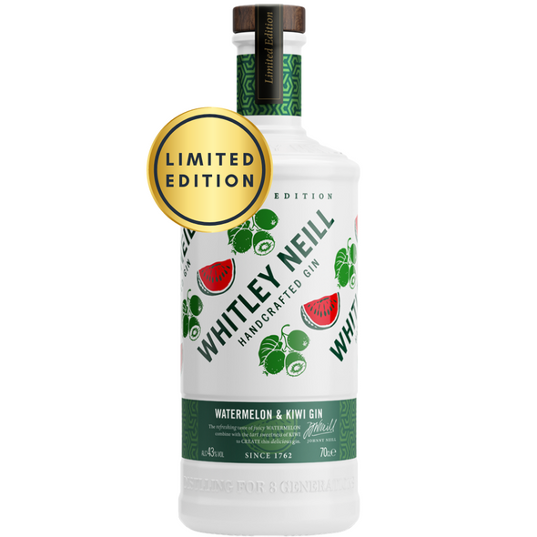 Whitley Neill Watermelon & Kiwi Gin, 70cl Limited Edition