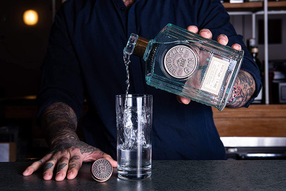 Brooklyn Small Batch Gin, 70cl pouring gin