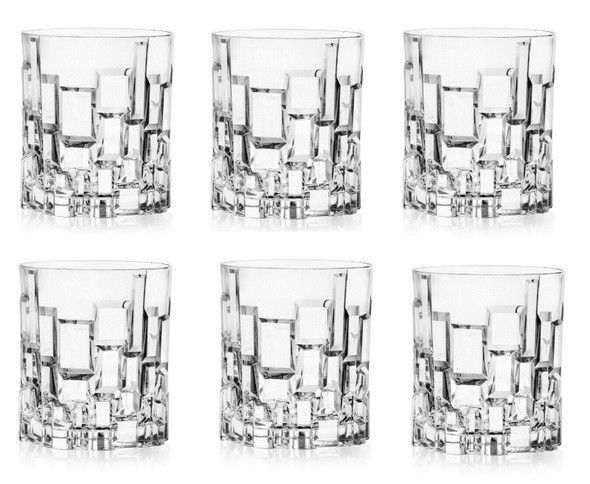 Etna Short Tumblers - Finest Luxion Crystal, Set of 6