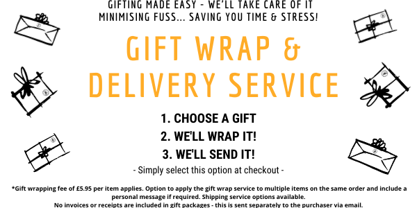 Gift wrap, wrapped gift, wrap and send, gift wrapping service, deliver wrapped gifts, gift delivery, presents wrapped, wrap my items