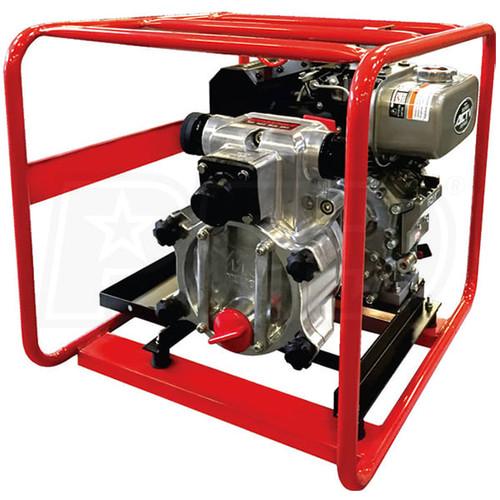"""Multiquip QP3TK - 3"""" Diesel Trash Pump, 325 GPM, 85 ft. MAX Head; 6.0 HP KUBOTA diesel"""