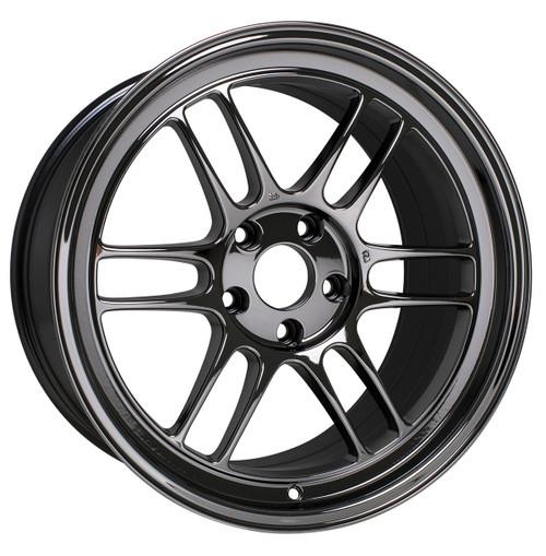 Enkei Racing 3797704943SBC RPF1 17X7 43mm Offset 4X100 15.15 lbs. 73 SBC Wheel