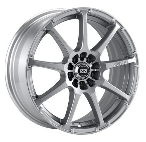 Enkei 441-565-0138SP EDR9 Silver Performance Wheel 15x6.5 4x100 4x114.3 38mm Offset 72.6mm Bore