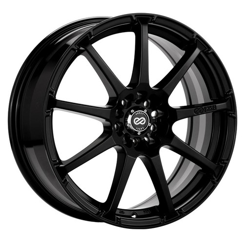 Enkei 441-780-0245BK EDR9 Matte Black Performance Wheel 17x8 5x100 5x114.3 45mm Offset 72.6mm Bore