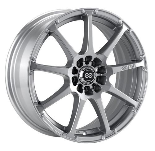 Enkei 441-780-5238SP EDR9 Silver Performance Wheel 17x8 5x105 5x110 38mm Offset 72.6mm Bore