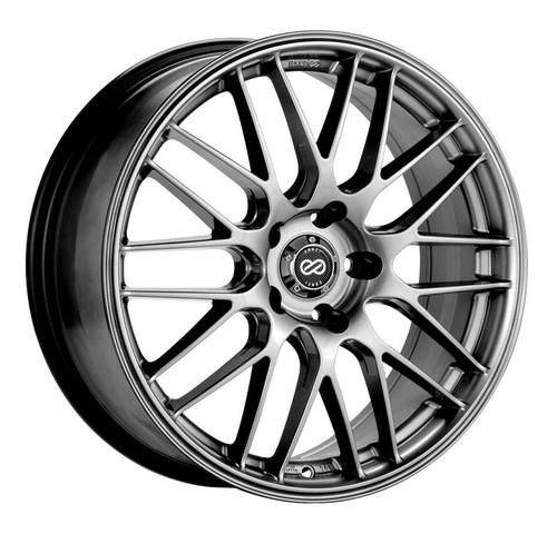 Enkei 442-770-8045HS EKM3 Hyper Silver Performance Wheel 17x7 5x100 45mm Offset 72.6mm Bore