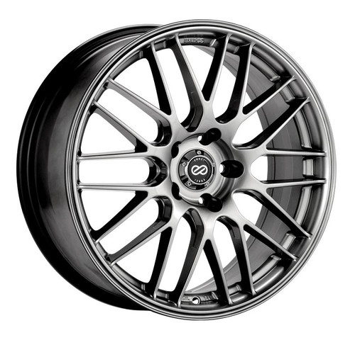 Enkei 442-880-1242HS EKM3 Hyper Silver Performance Wheel 18x8 5x120 42mm Offset 72.6mm Bore