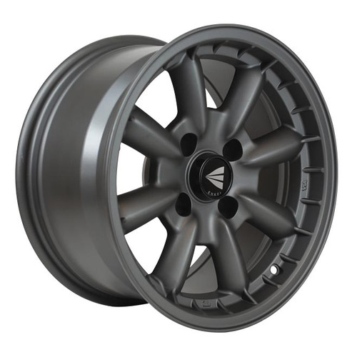 Enkei 477-580-4925GM Compe Matte Gunmetal Performance Wheel 15x8 4x100 25mm Offset 72.6mm Bore