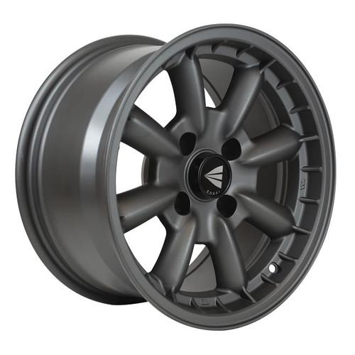 Enkei 477-670-4925GM Compe Matte Gunmetal Performance Wheel 16x7 4x100 25mm Offset 72.6mm Bore