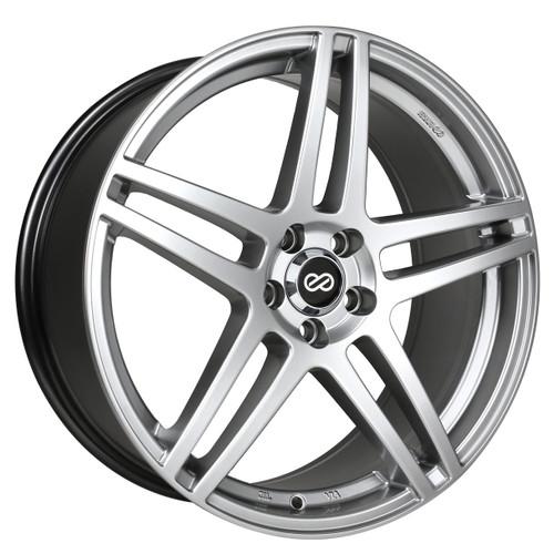 Enkei 479-880-8040HS RSF5 Hyper Silver Performance Wheel 18x8 5x100 40mm Offset 72.6mm Bore