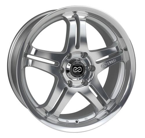 Discontinued - Enkei 483-285-1240MF M5 Silver Machined Truck Wheel 20x8.5 5x120 40mm Offset 72.6mm B