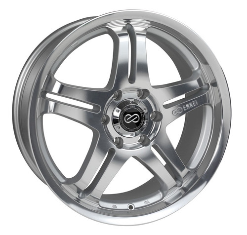 Discontinued - Enkei 483-285-8420MF M5 Silver Machined Truck Wheel 20x8.5 6x139.7 20mm Offset 108.5m